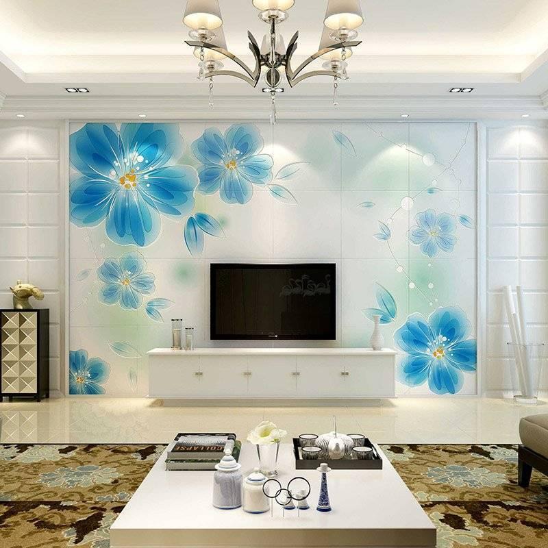 Blue Love-Modern Style Background